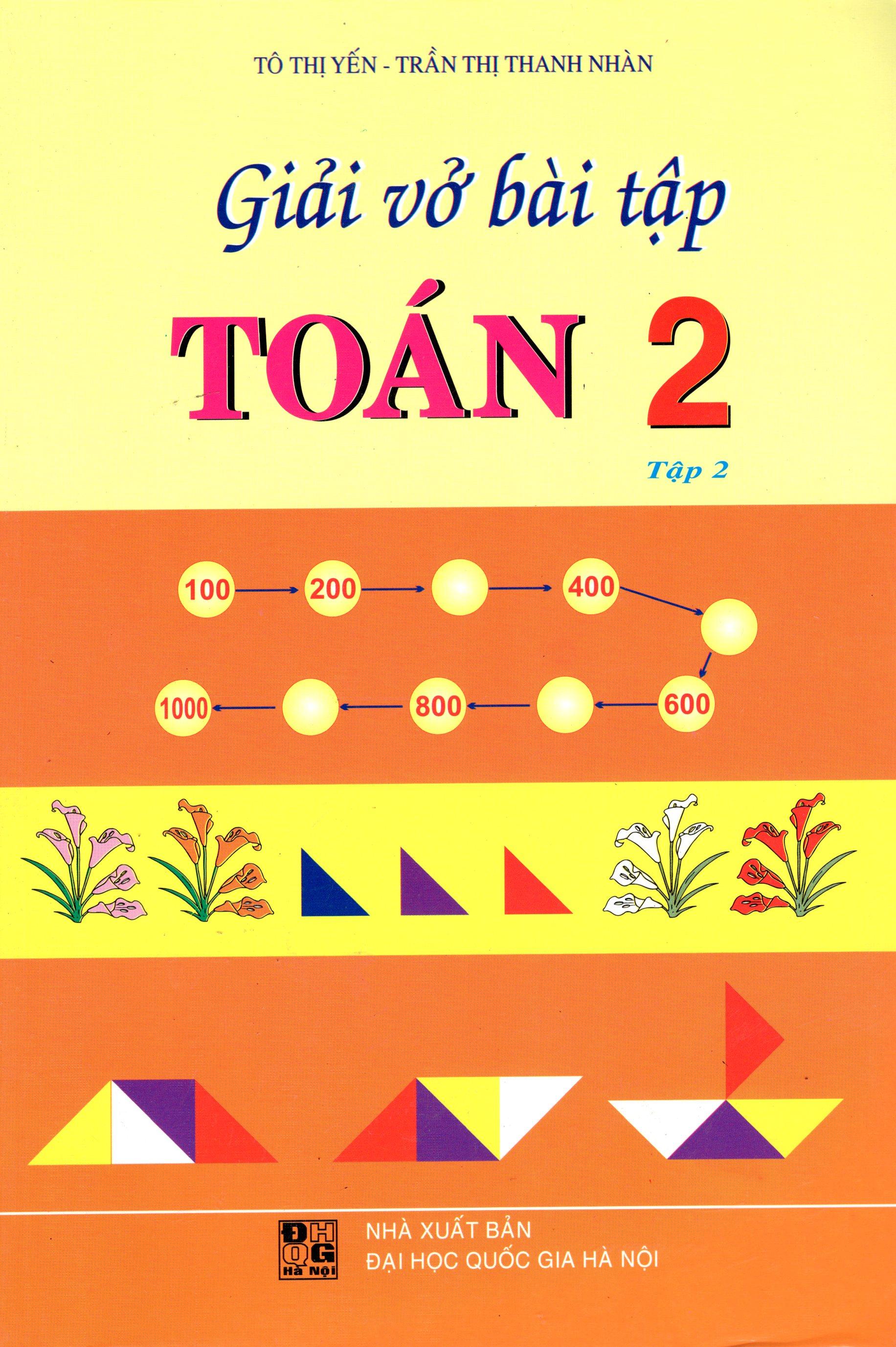 Bìa sách Giải Vở Bài Tập Toán Lớp 2 (Tập 2) (2015)