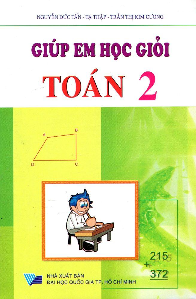 Bìa sách Giúp Em Học Giỏi Toán Lớp 2