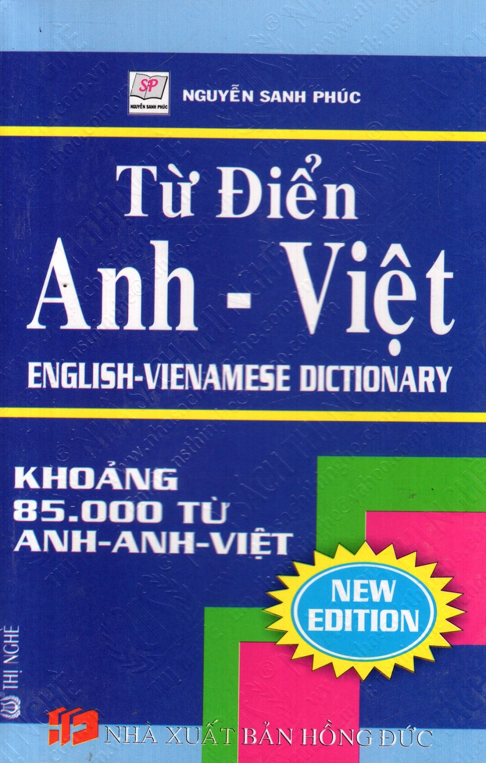 Bìa sách Từ Điển Anh - Việt (Khoảng 85.000 Từ) - Sách Bỏ Túi