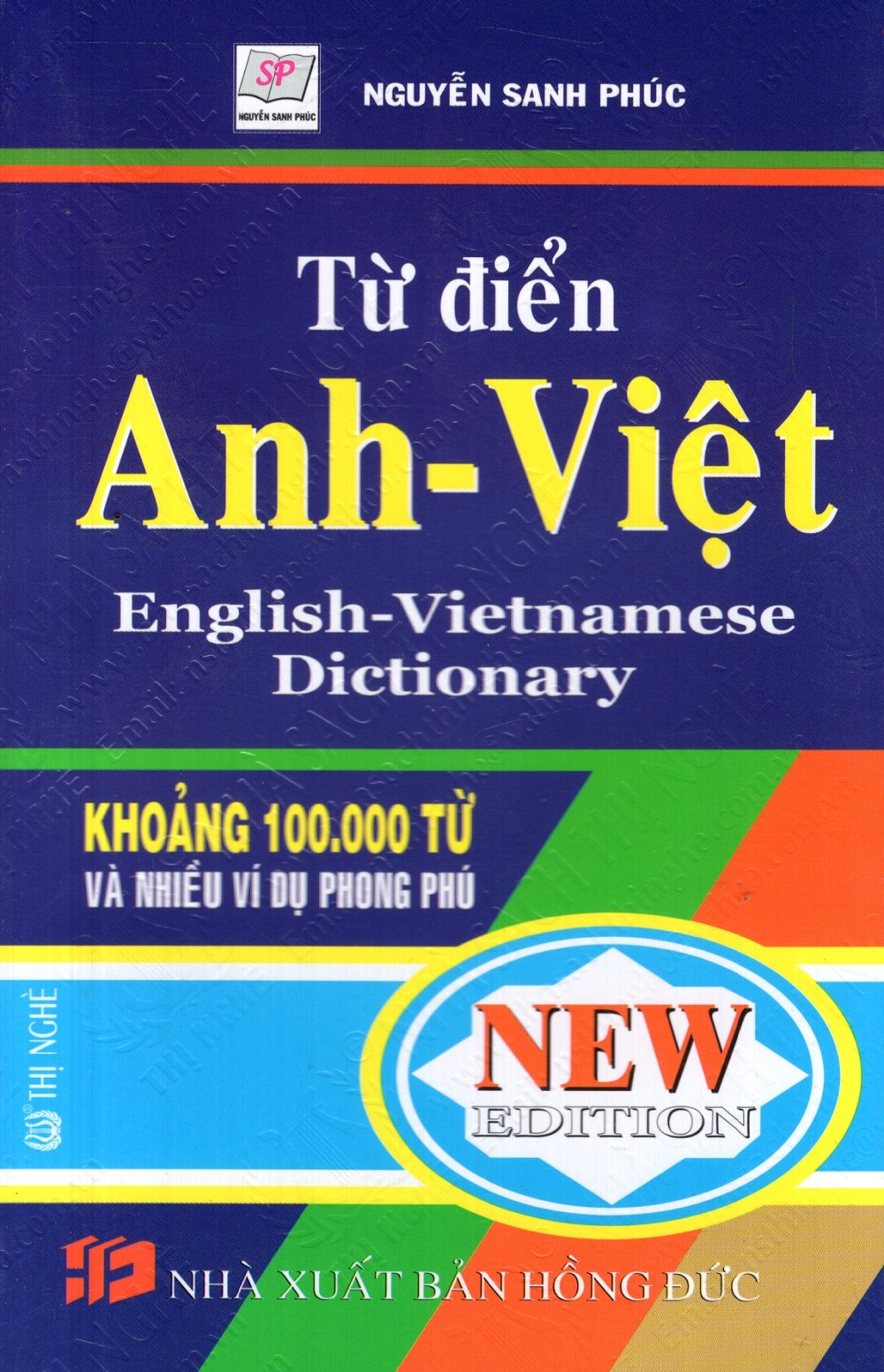Bìa sách Từ Điển Anh - Việt (Khoảng 100.000 Từ) - Sách Bỏ Túi