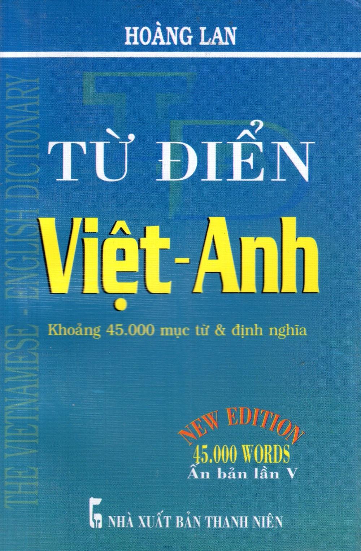 Bìa sách Từ Điển Việt - Anh (Khoảng 45.000 Từ) - Sách Bỏ Túi