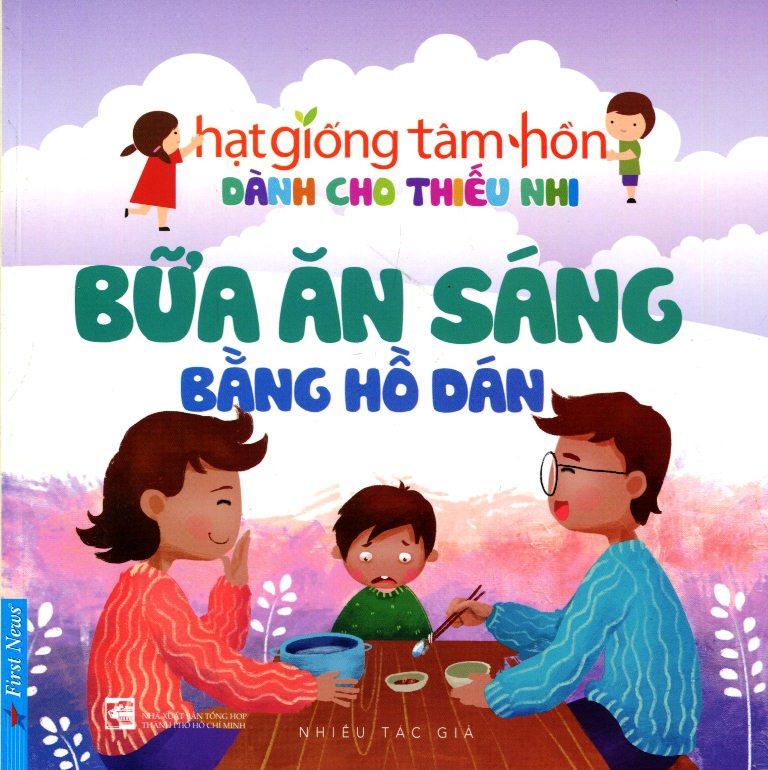 Bìa sách Truyện Thiếu Nhi HGTH - Bữa Ăn Sáng Bằng Hồ Dán