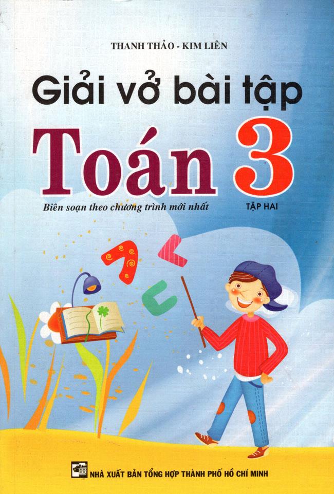 Bìa sách Giải Vở Bài Tập Toán Lớp 3 (Tập 2) (Tái Bản 2015)