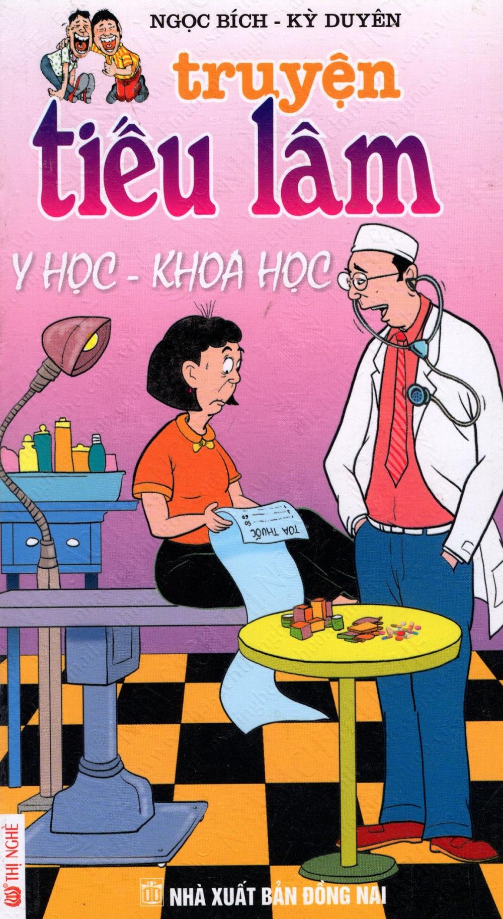 Bìa sách Truyện Tiếu Lâm: Y Học - Khoa Học