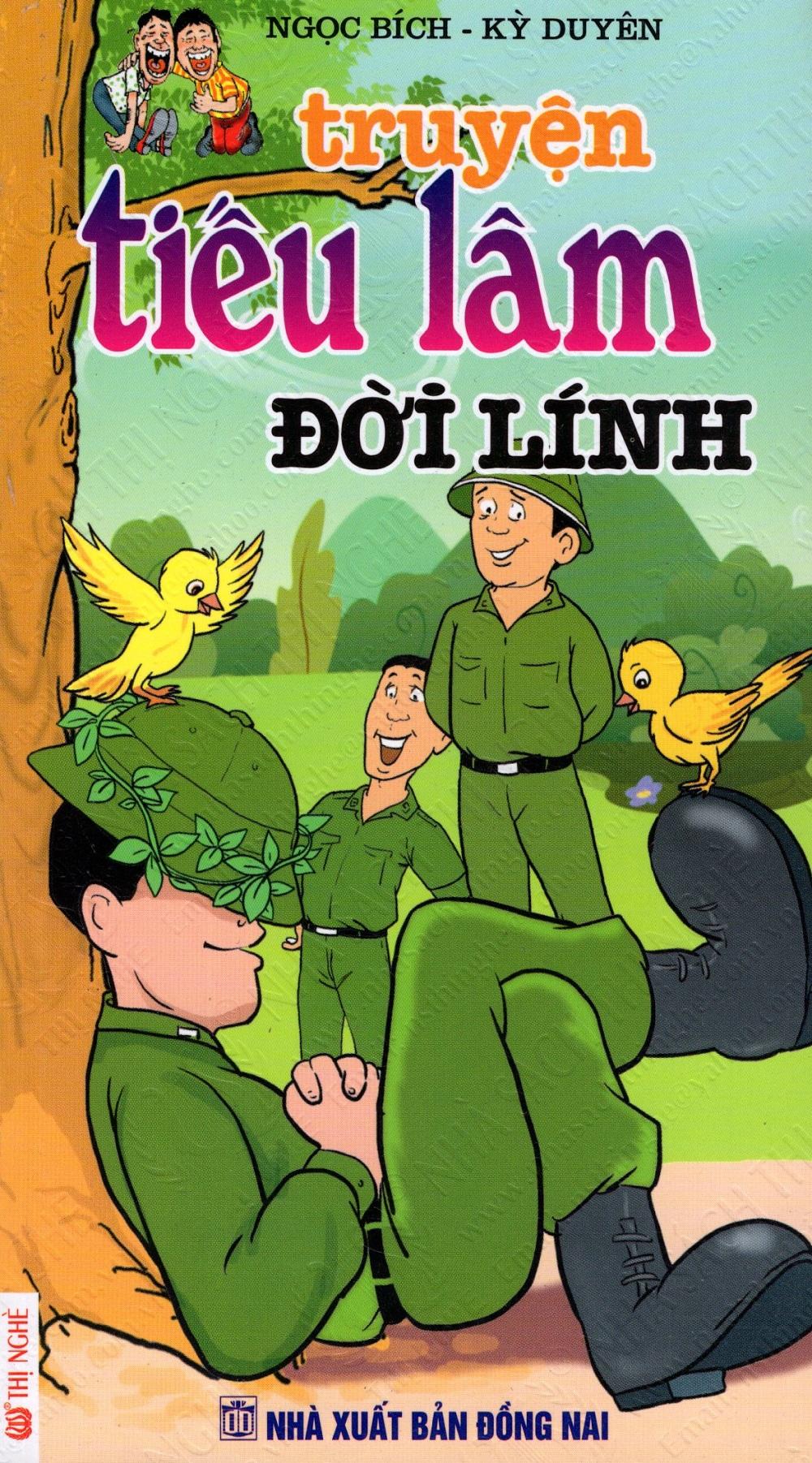 Bìa sách Truyện Tiếu Lâm: Đời Lính