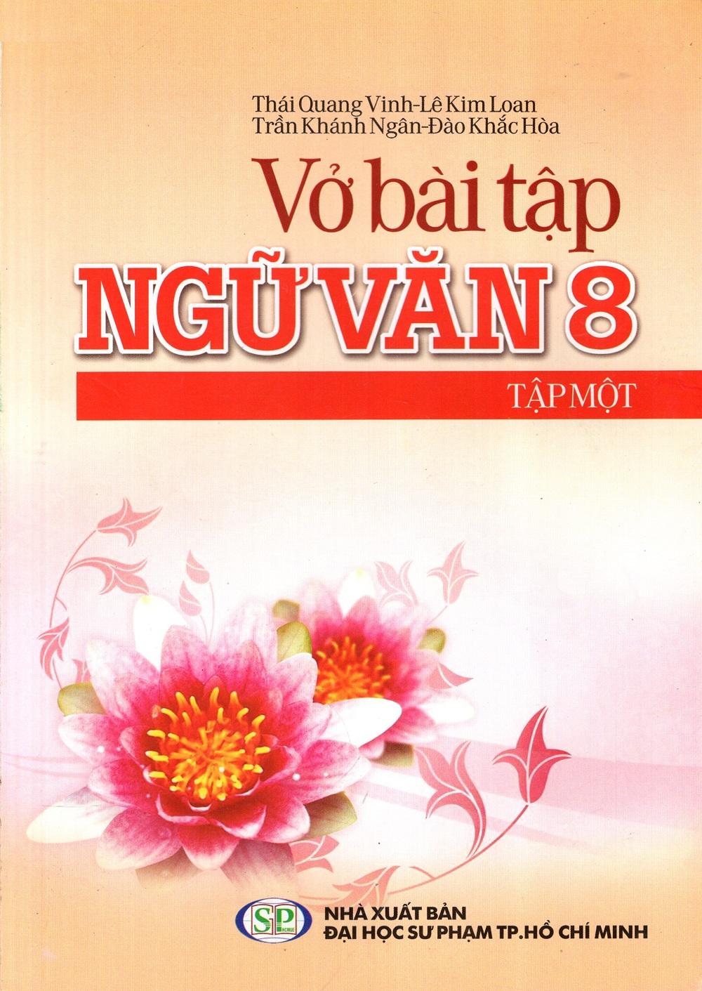 Bìa sách Vở Bài Tập Ngữ Văn Lớp 8 (Tập 1)