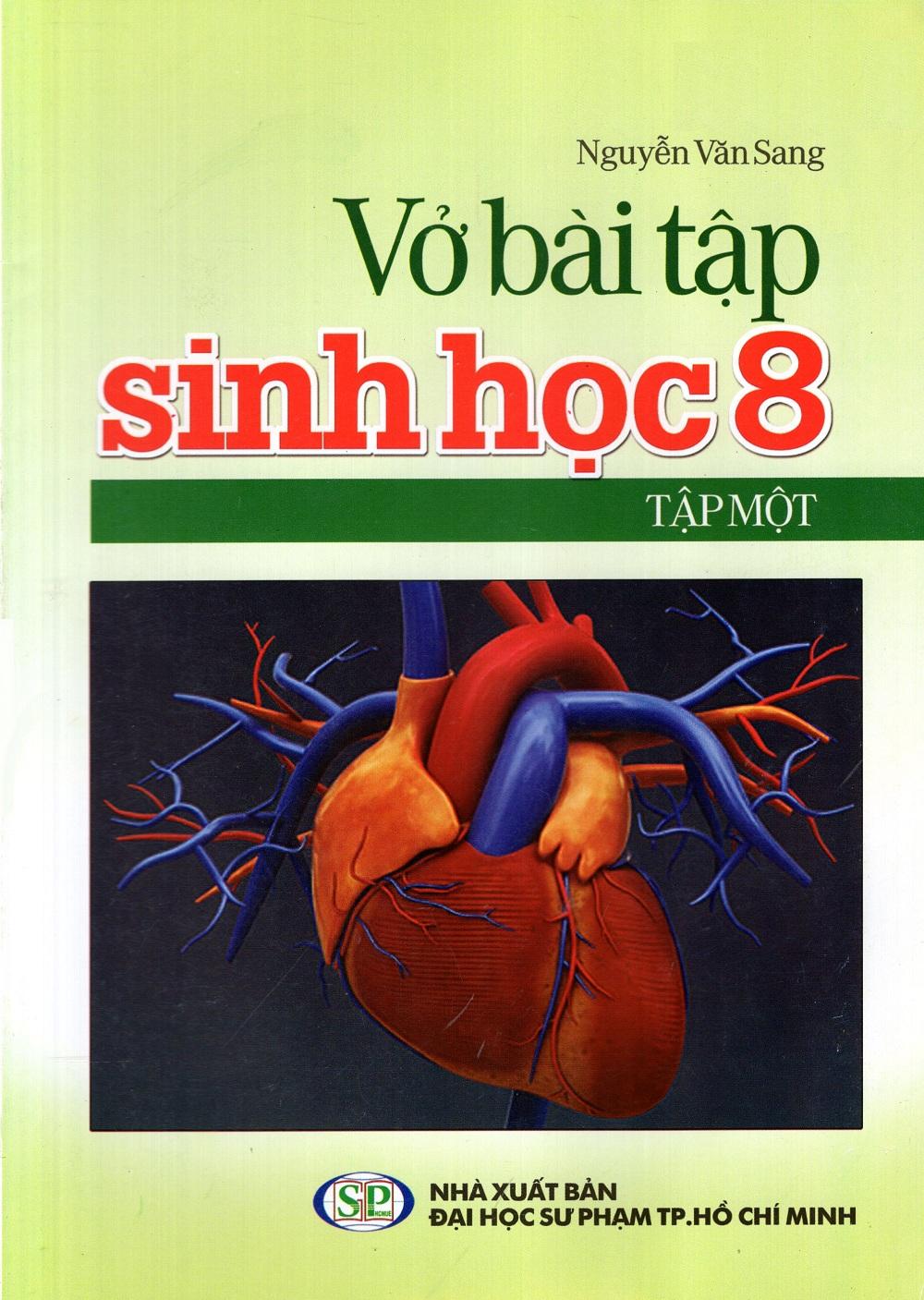 Bìa sách Vở Bài Tập Sinh Học Lớp 8 (Tập 1)
