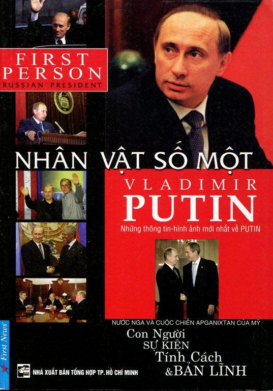 Bìa sách Nhân Vật Số Một  Vladimir Putin