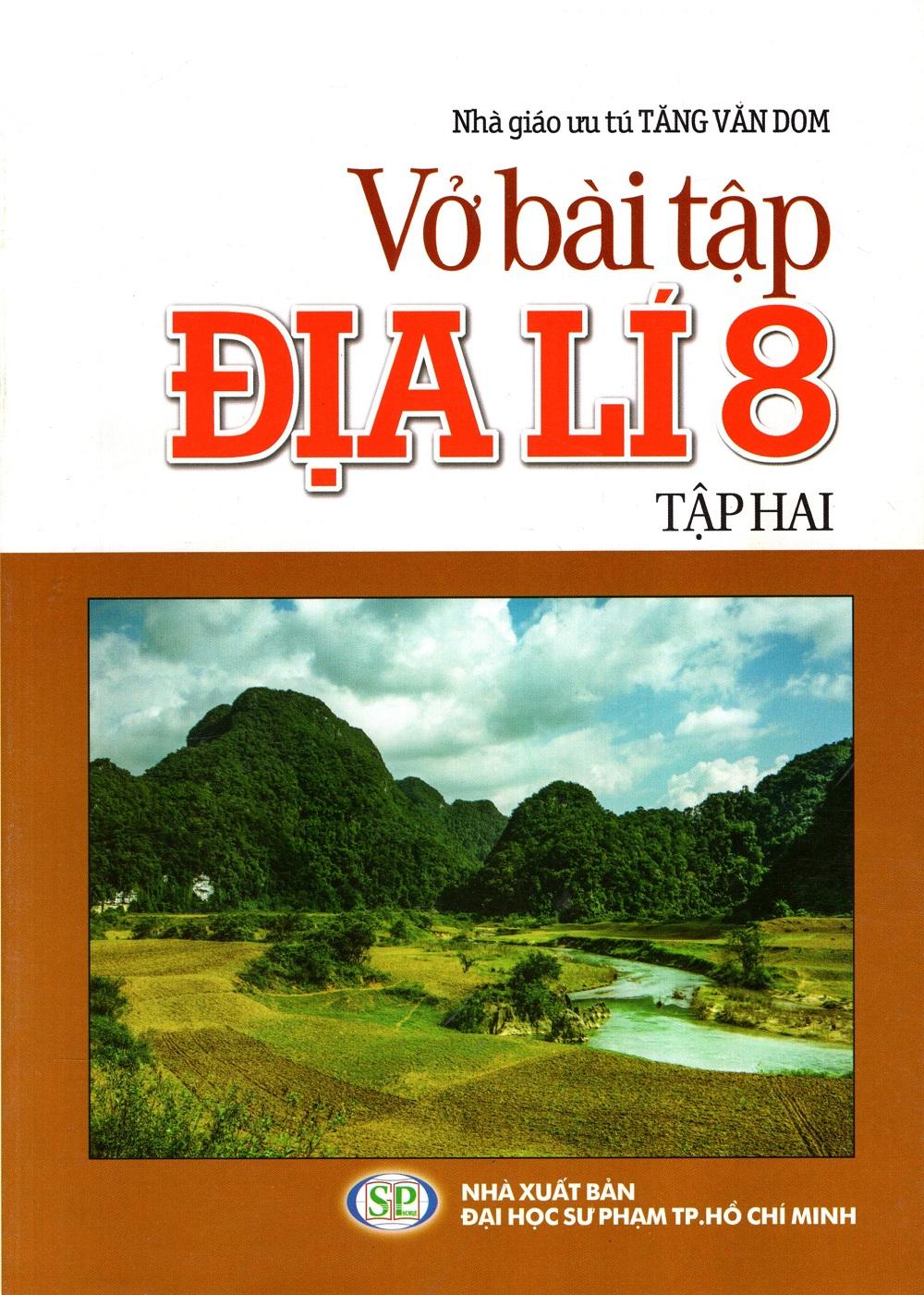 Bìa sách Vở Bài Tập Địa Lí Lớp 8 (Tập 2)