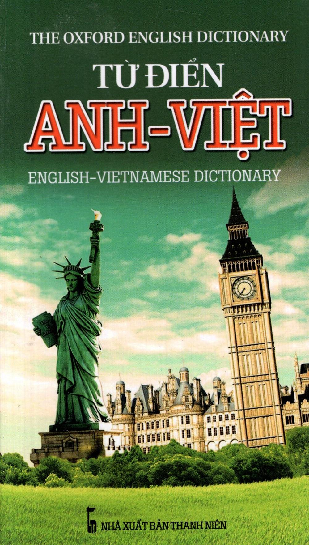 Bìa sách Từ Điển Anh - Việt (2013) - Sách Bỏ Túi