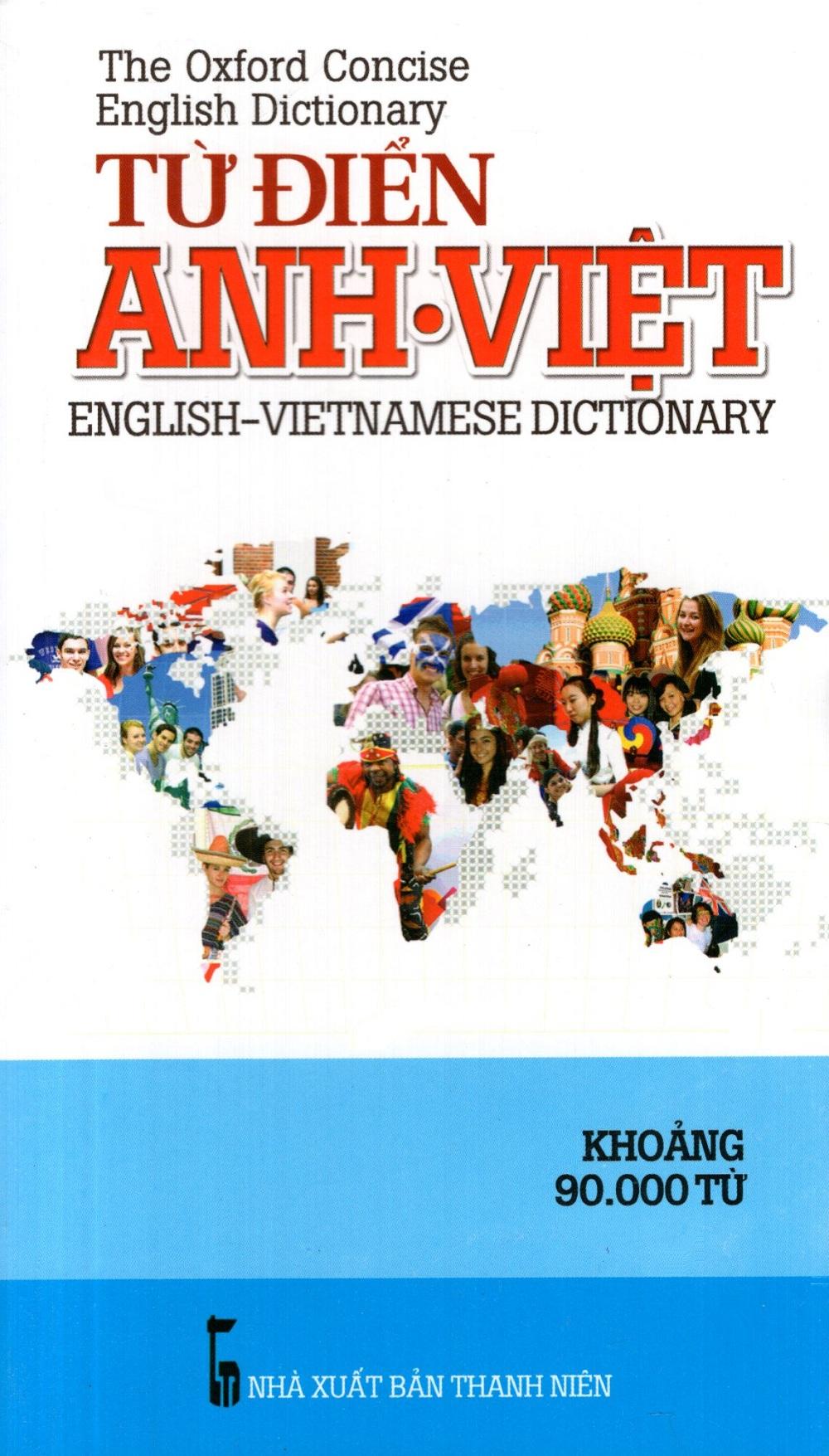 Bìa sách Từ Điển Anh - Việt (Khoảng 90.000 Từ) - Sách Bỏ Túi