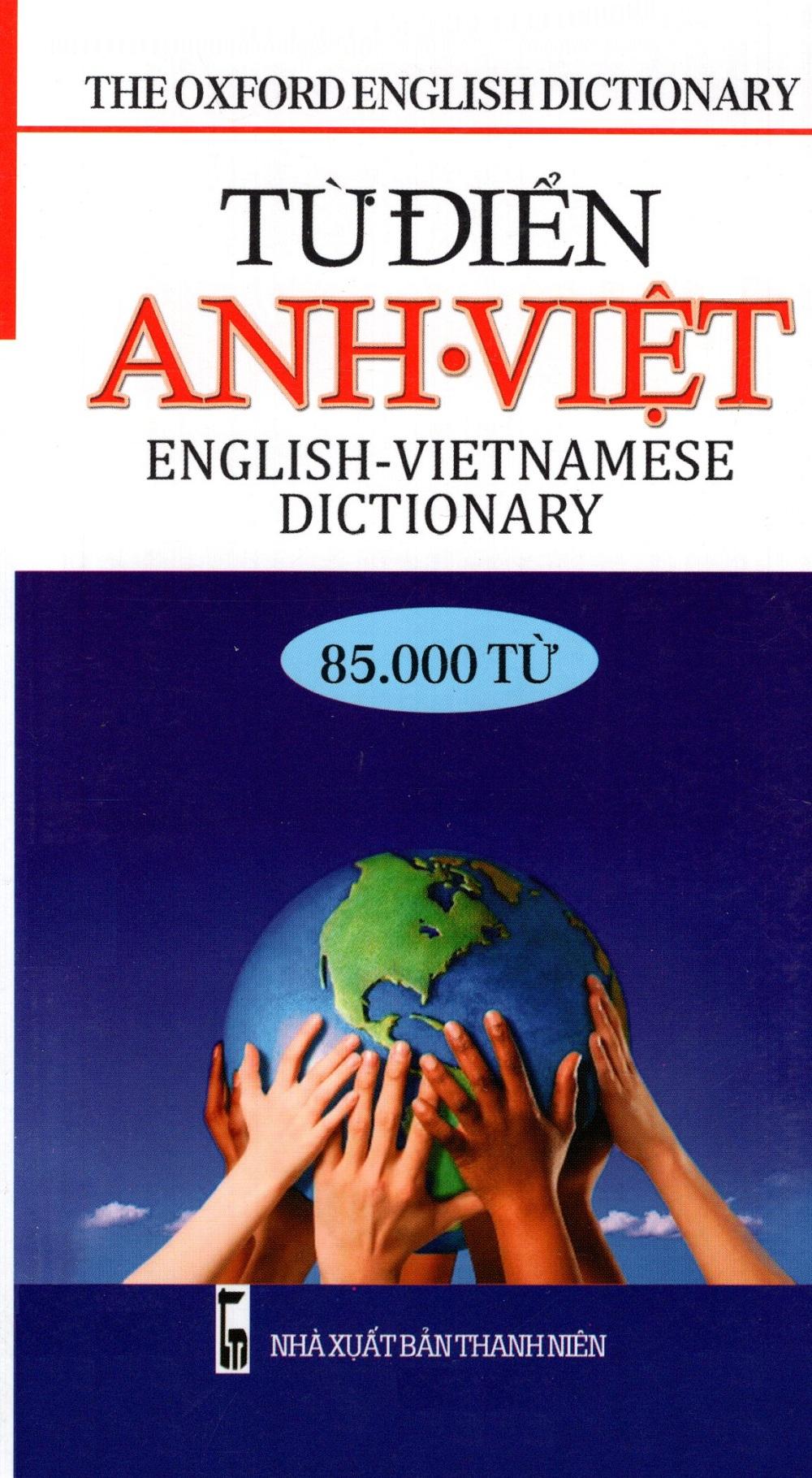 Bìa sách Từ Điển Anh - Việt (85.000 Từ) - Sách Bỏ Túi