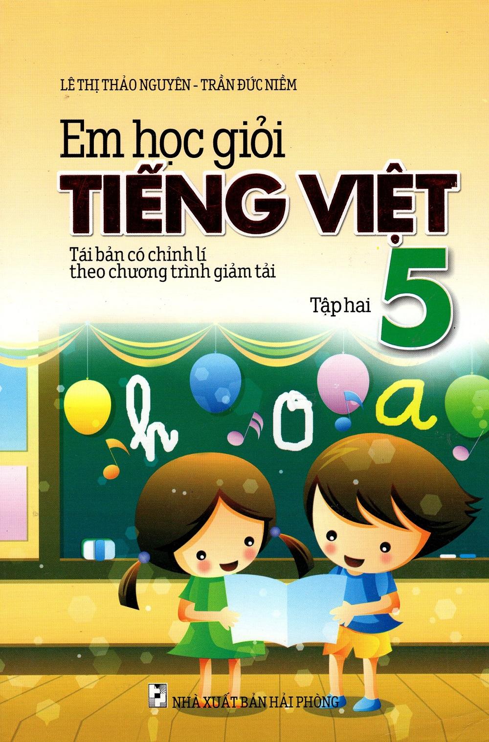 Bìa sách Em Học Giỏi Tiếng Việt Lớp 5 (Tập 2)