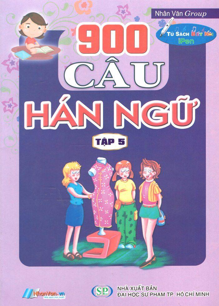 Bìa sách 900 Câu Hán Ngữ (Tập 5)