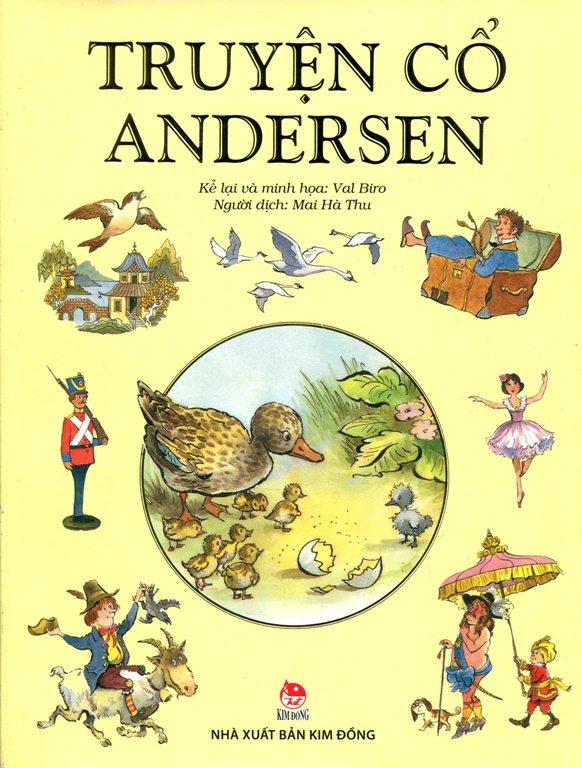 Bìa sách Truyện Cổ Andersen (Kim Đồng)