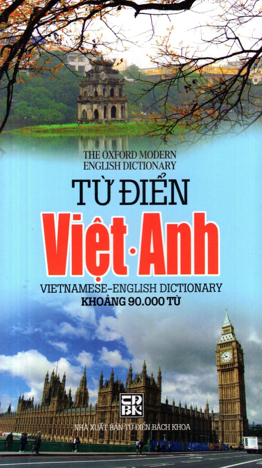Bìa sách Từ Điển Việt - Anh (Khoảng 90.000 Từ) - Sách Bỏ Túi