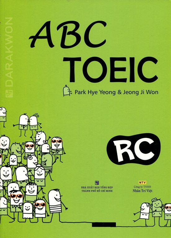 Bìa sách ABC TOEIC RC - Reading Comprehension (Không CD)