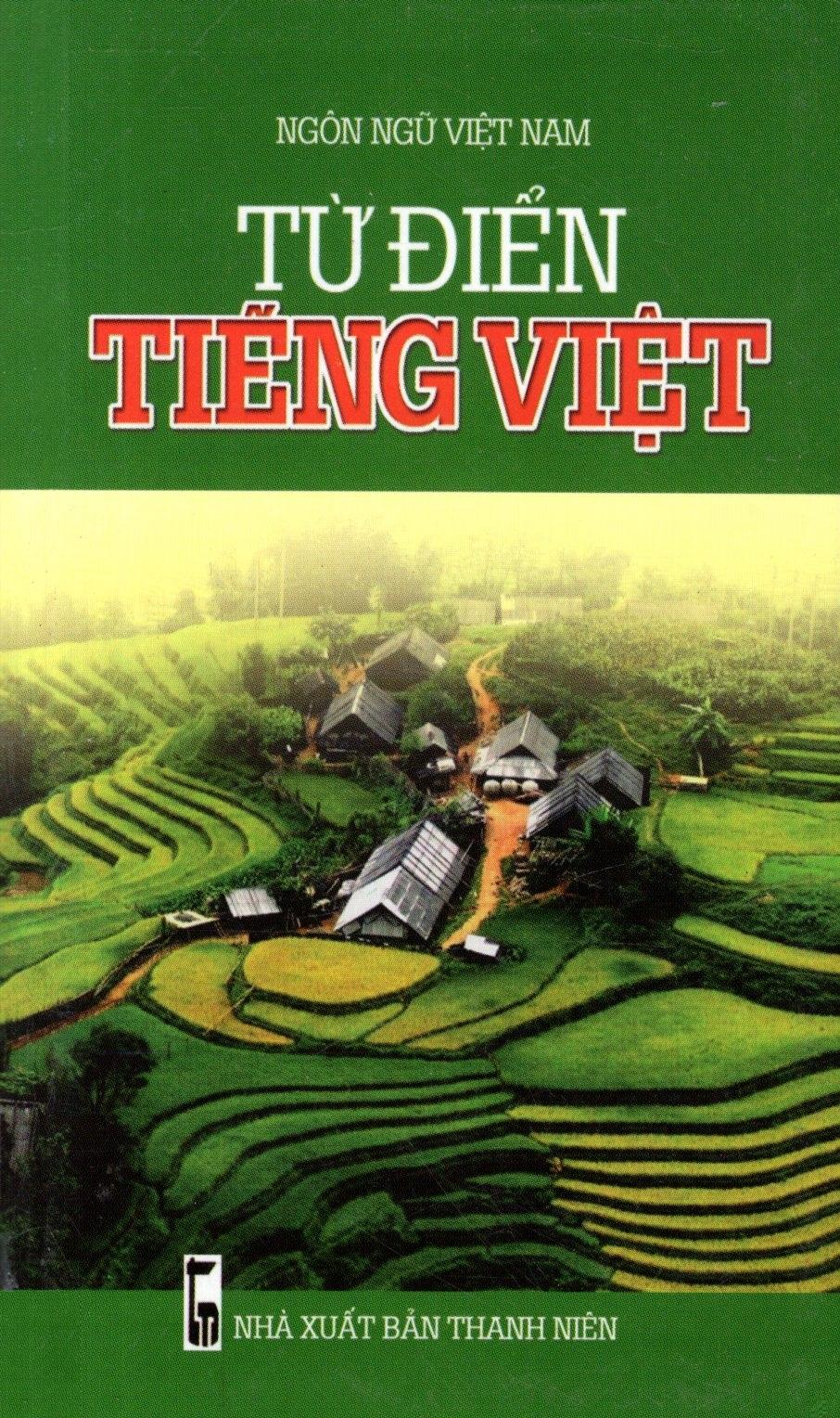 Bìa sách Từ Điển Tiếng Việt (2014 - Minh Trí) - Sách Bỏ Túi