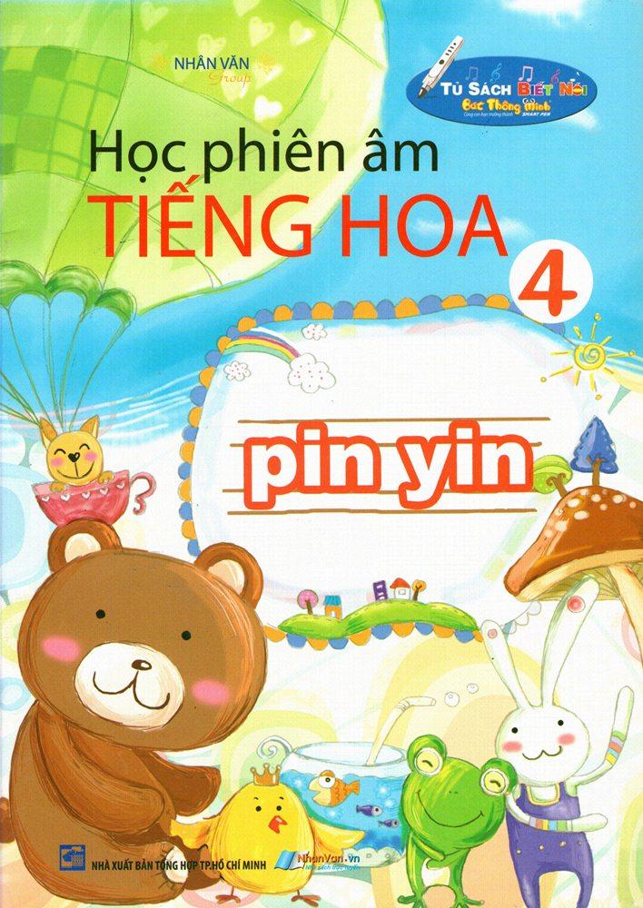 Bìa sách Học Phiên Âm Tiếng Hoa (Tập 4)