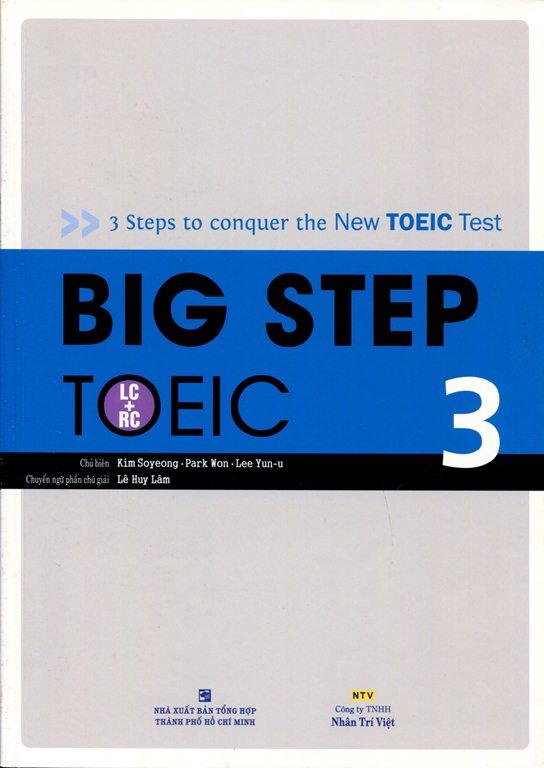 Bìa sách Big Step TOEIC 3 (LC + RC) - Kèm CD