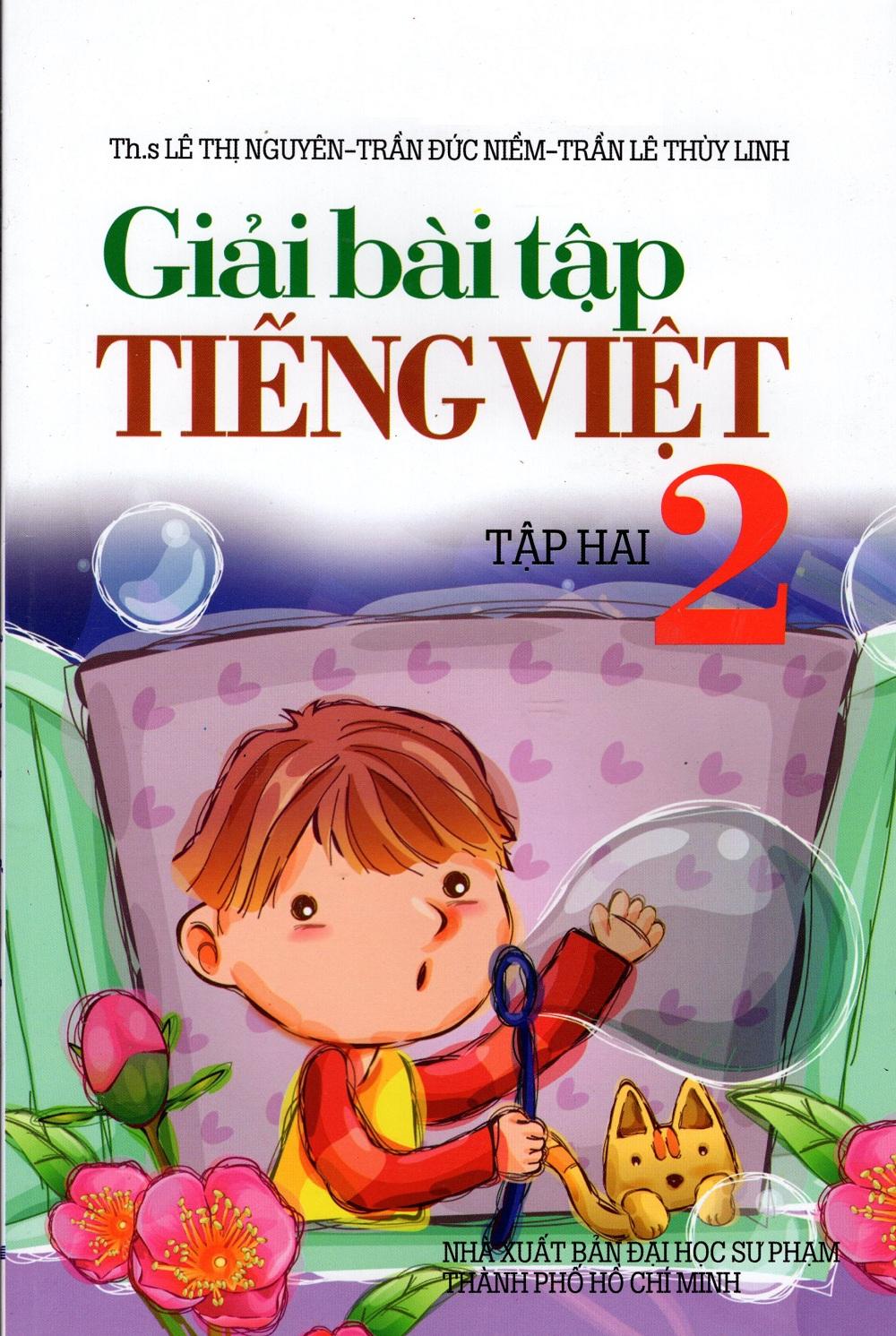 Bìa sách Giải Bài Tập Tiếng Việt Lớp 2 (Tập Hai)