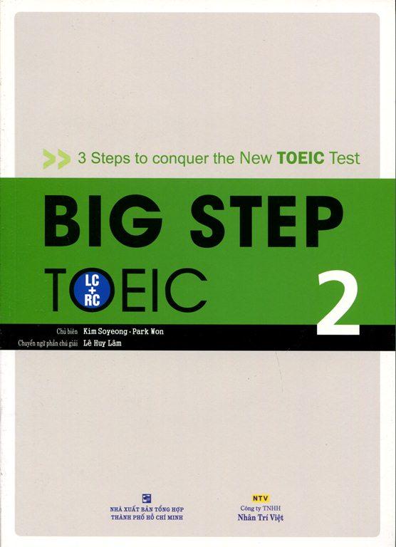 Bìa sách Big Step TOEIC 2 (LC + RC) - Kèm CD