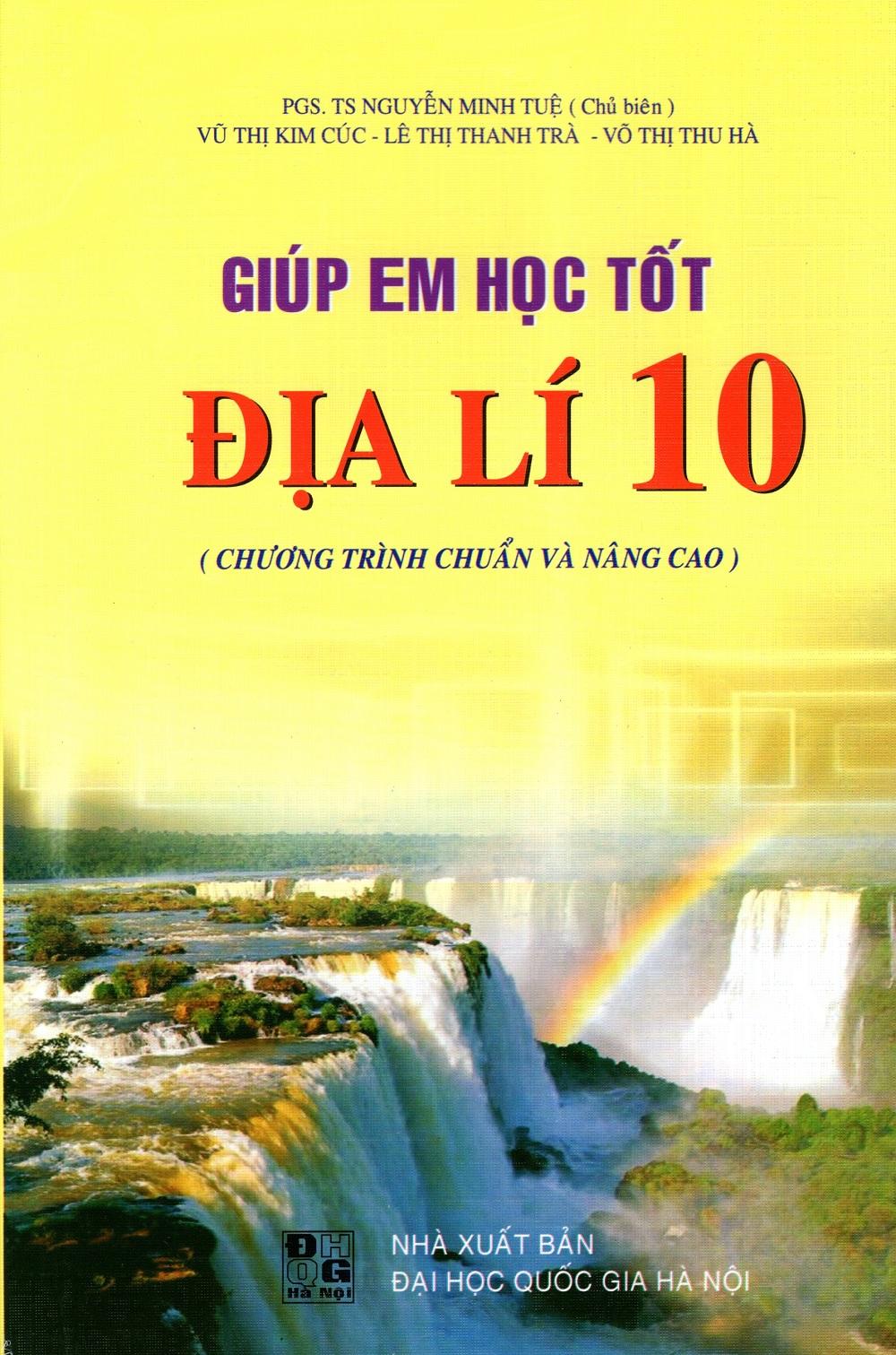 Bìa sách Giúp Em Học Tốt Địa Lí Lớp 10