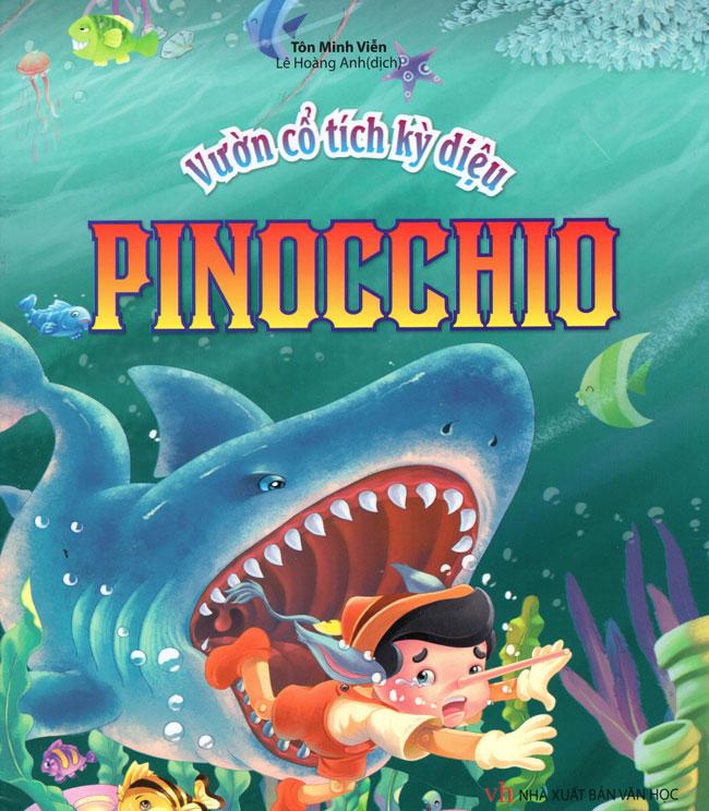 Bìa sách Vườn Cổ Tích Kỳ Diệu - Pinocchio