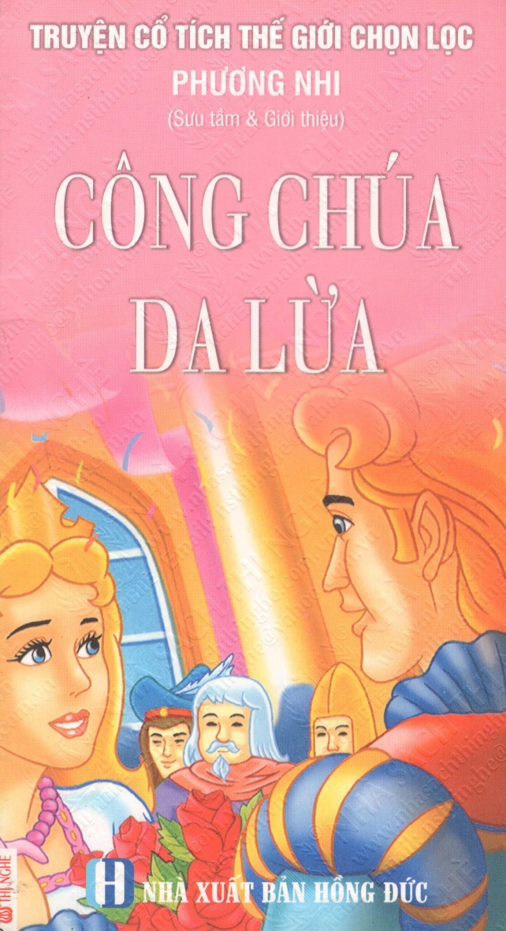 Bìa sách Truyện Cổ Tích Thế Giới Chọn Lọc: Công Chúa Da Lừa