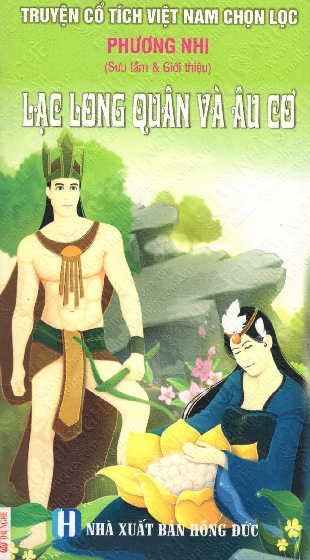 Bìa sách Truyện Cổ Tích Việt Nam Chọn Lọc: Lạc Long Quân Và Âu Cơ