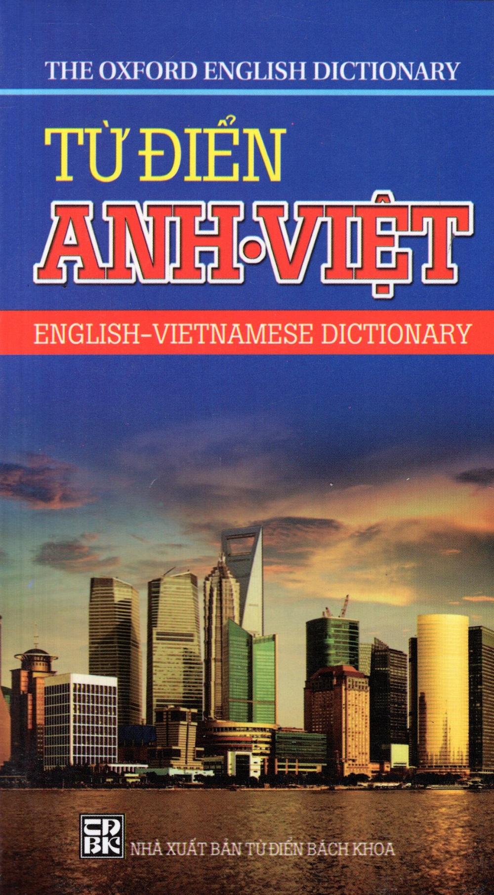 Bìa sách Từ Điển Anh - Việt (Minh Trí) - Sách Bỏ Túi