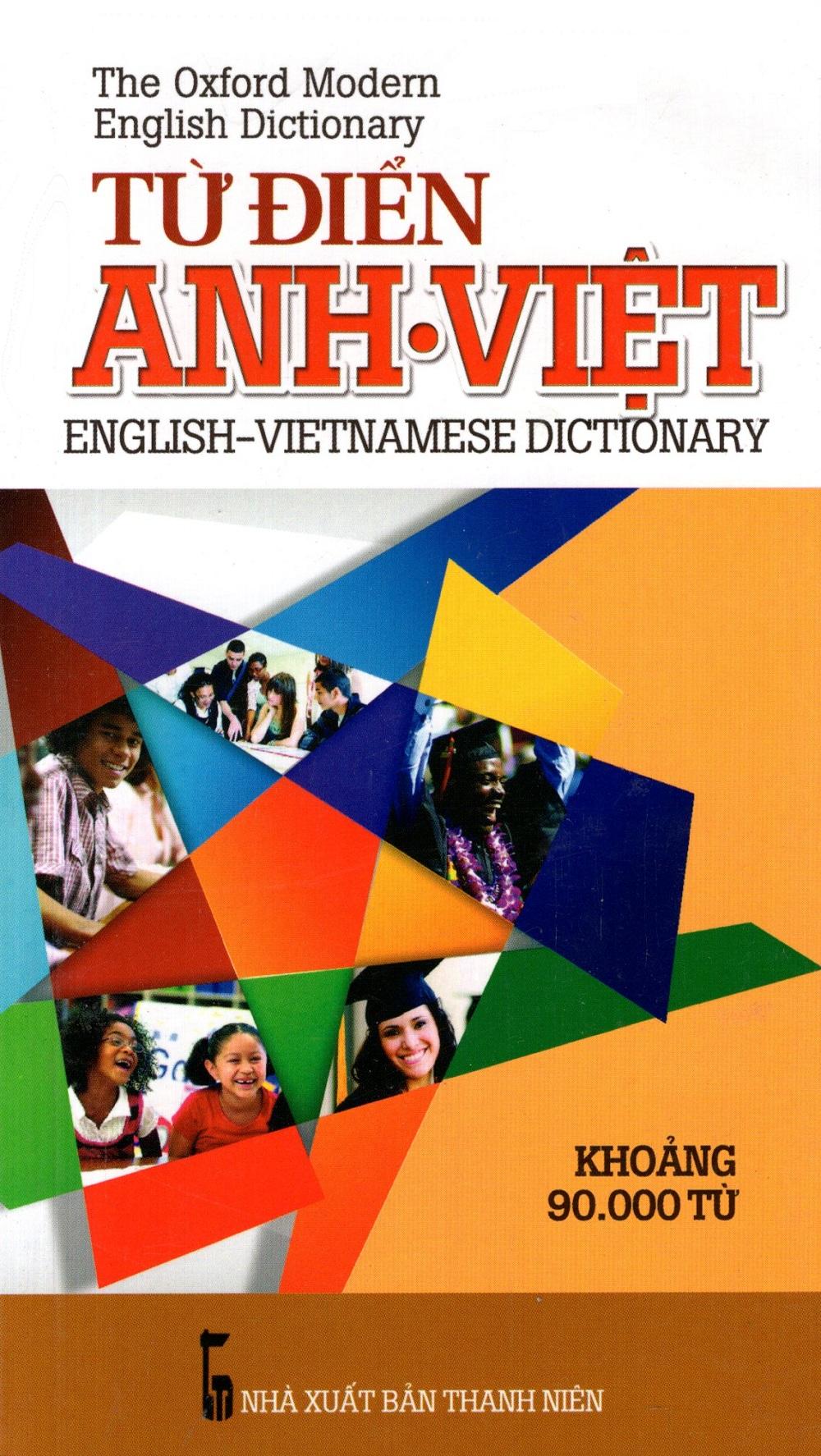 Bìa sách Từ Điển Anh - Việt (Khoảng 90.000 Từ - 2015) - Sách Bỏ Túi