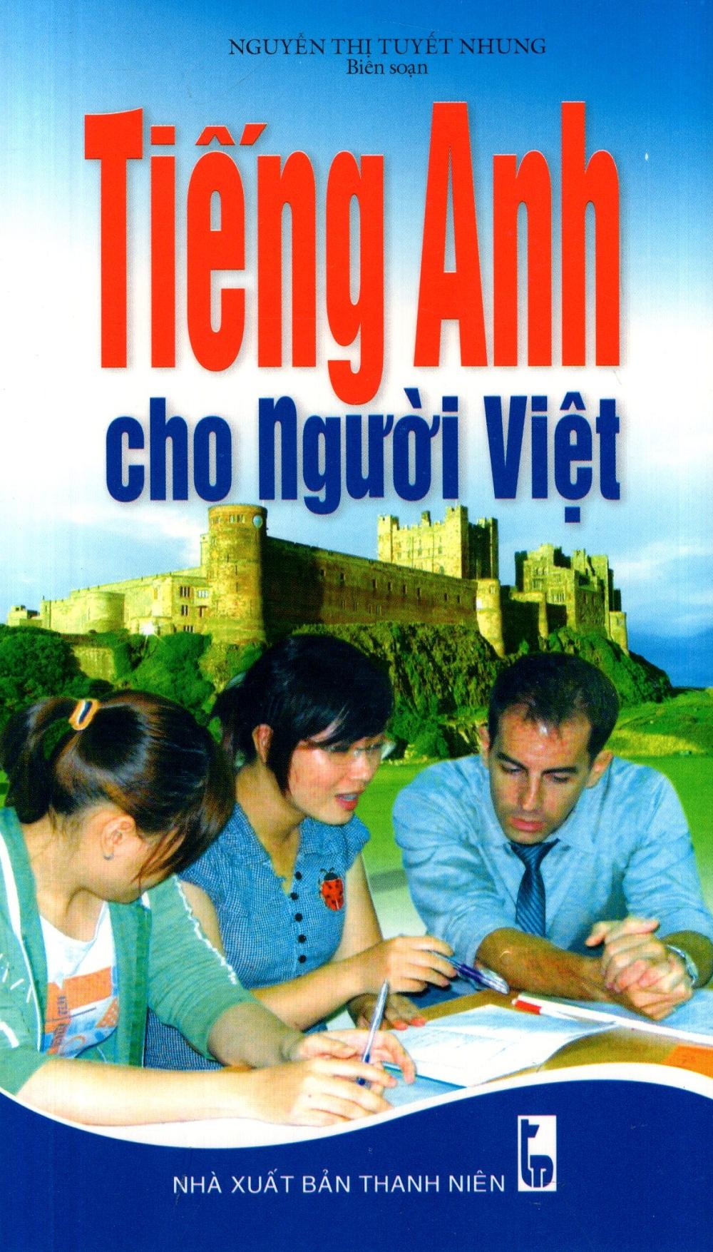 Bìa sách Tiếng Anh Cho Người Việt (Kèm CD)