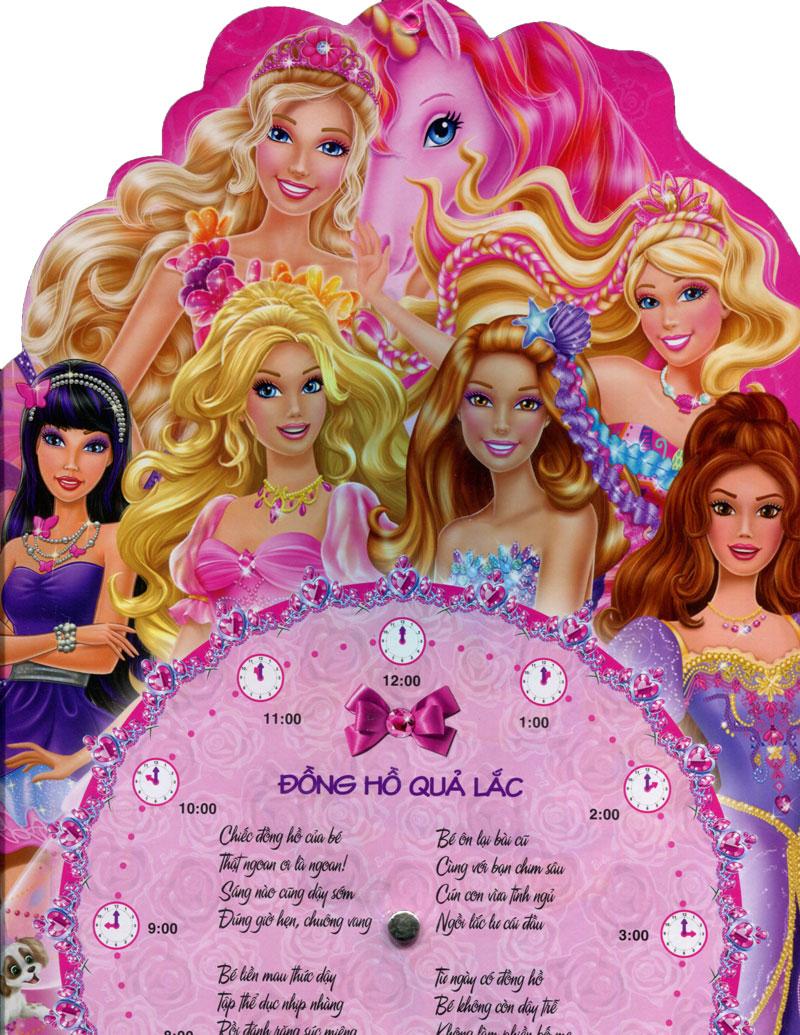 Review sách Đồng Hồ Barbie Xinh Đẹp
