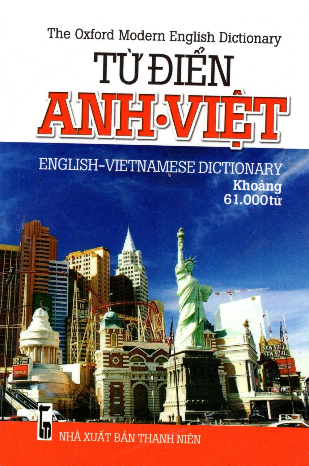 Bìa sách Từ Điển Anh - Việt (Khoảng 61.000 Từ) - Sách Bỏ Túi