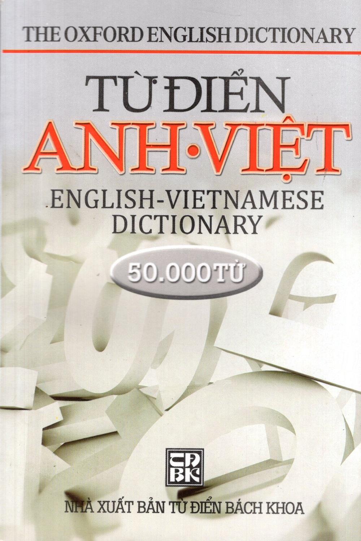 Bìa sách Từ Điển Anh - Việt (50.000 Từ) - Sách Bỏ Túi
