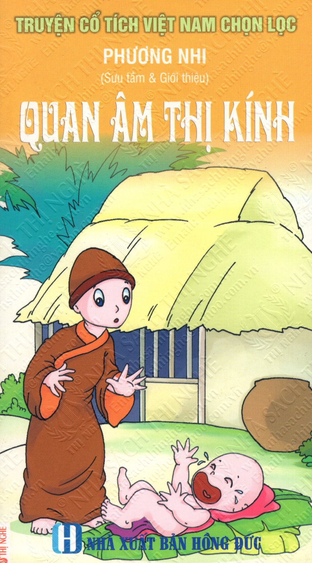 Bìa sách Truyện Cổ Tích Việt Nam Chọn Lọc: Quan Âm Thị Kính