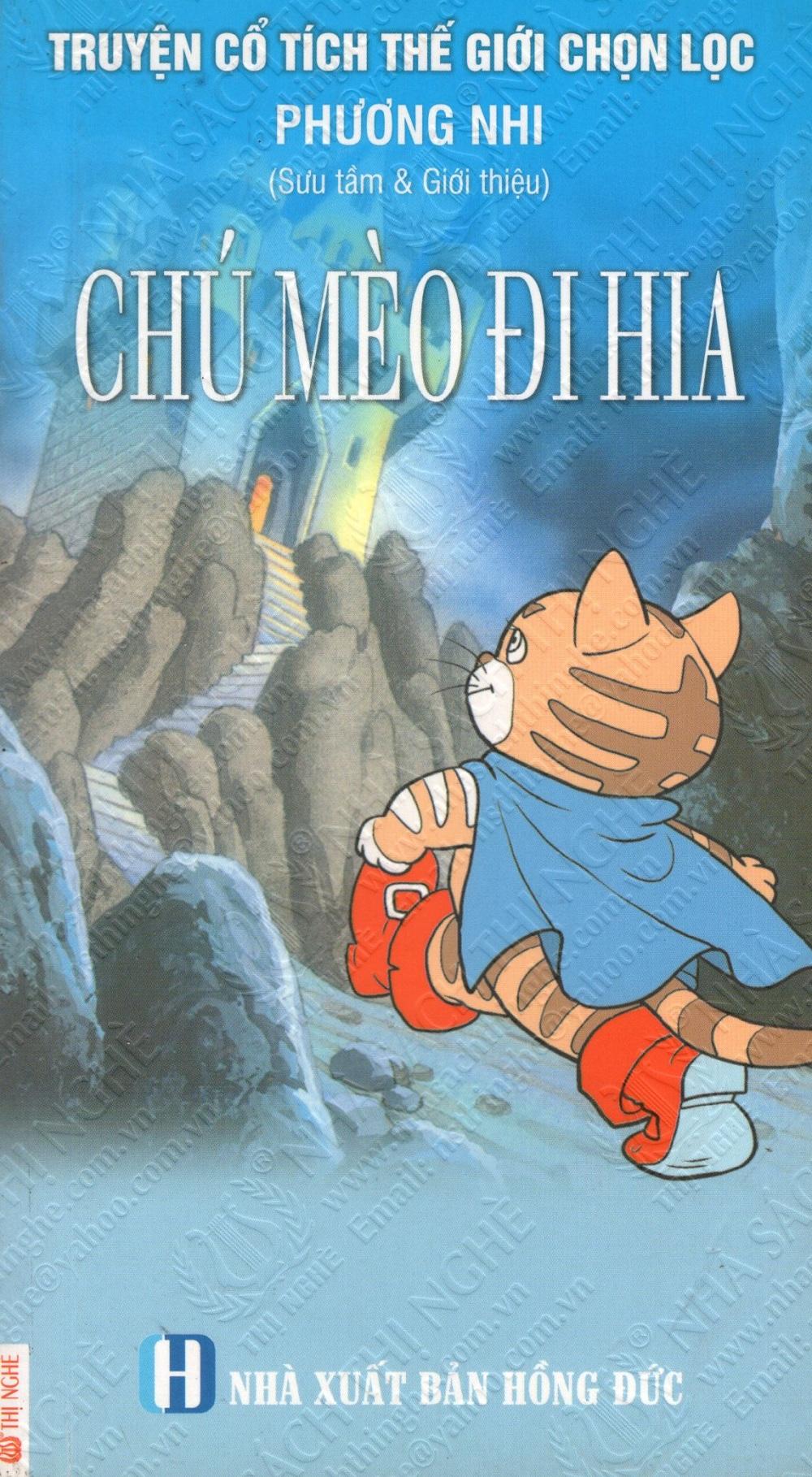 Bìa sách Truyện Cổ Tích Thế Giới Chọn Lọc: Chú Mèo Đi Hia