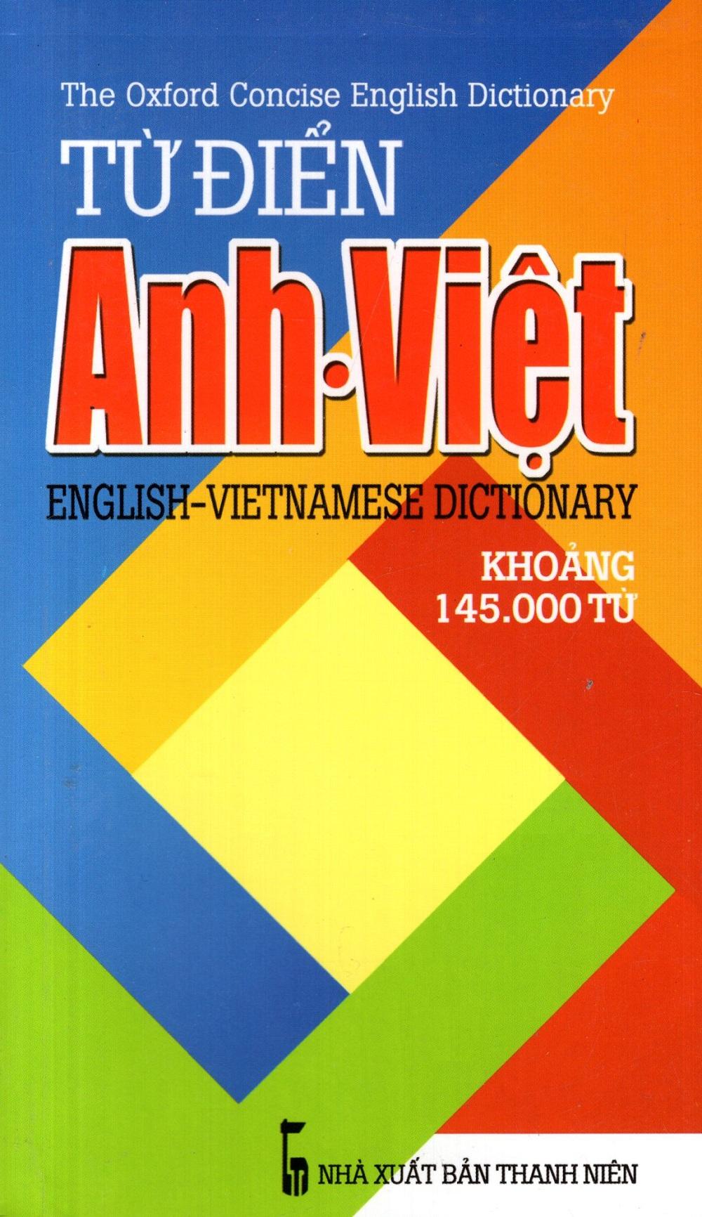 Bìa sách Từ Điển Anh - Việt (Khoảng 145.000 Từ) - Sách Bỏ Túi