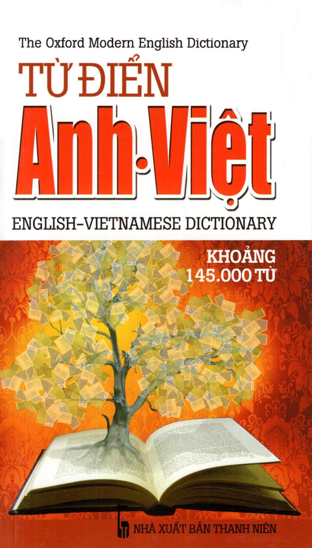Bìa sách Từ Điển Anh - Việt (Khoảng 145.000 Từ) (2014) - Sách Bỏ Túi