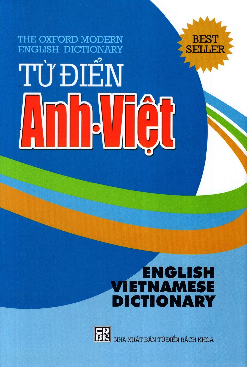 Bìa sách Từ Điển Anh - Việt (2014 - Minh Trí)