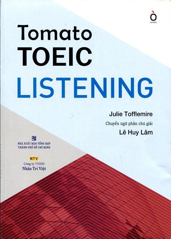 Bìa sách Tomato TOEIC Listening (Kèm CD)