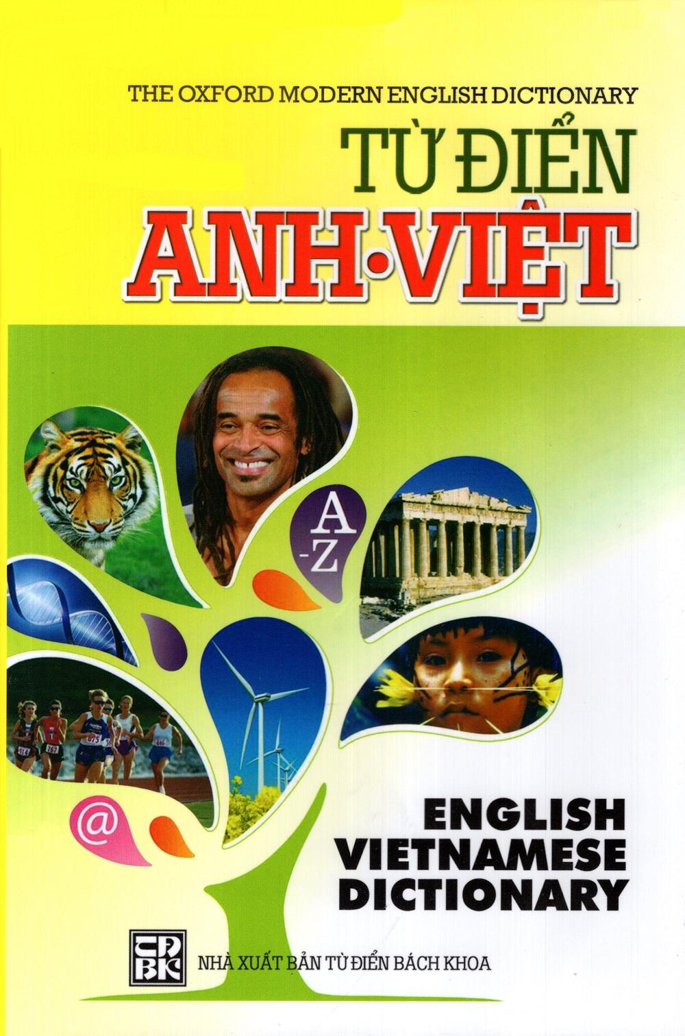 Bìa sách Từ Điển Anh - Việt (2014 - NS Minh Trí)