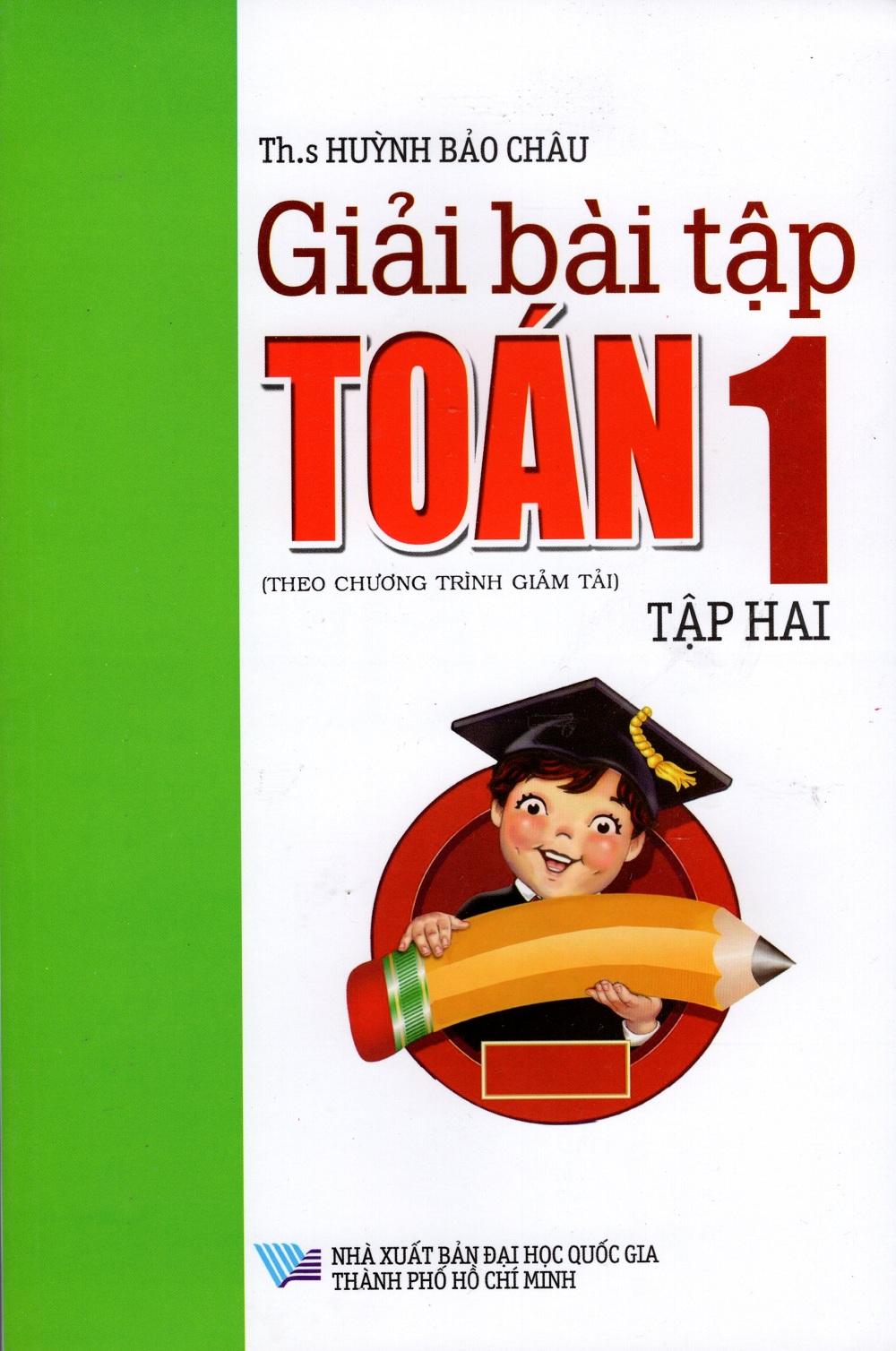 Bìa sách Giải Bài Tập Toán Lớp 1 (Tập Hai)