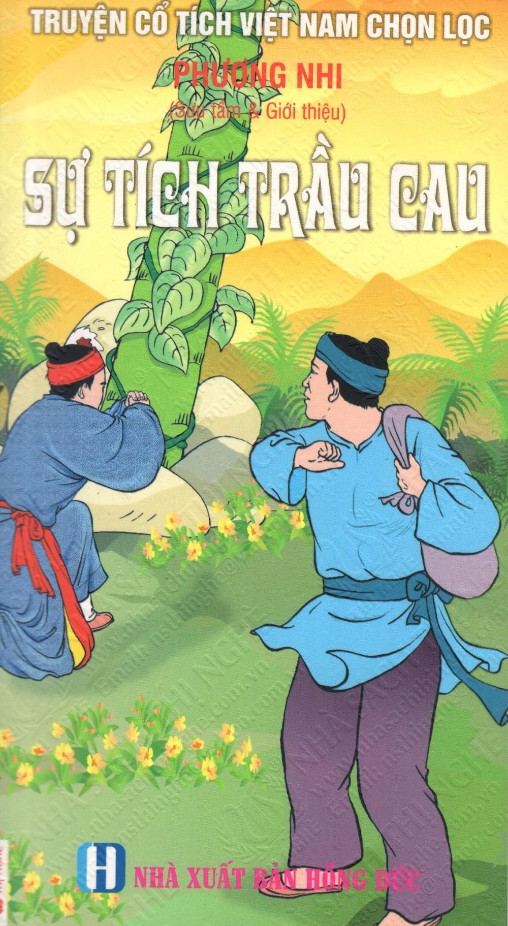 Bìa sách Truyện Cổ Tích Việt Nam Chọn Lọc: Sự Tích Trầu Cau