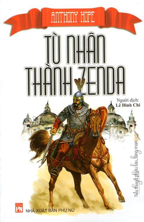 Bìa sách Tù Nhân Thành Zenda