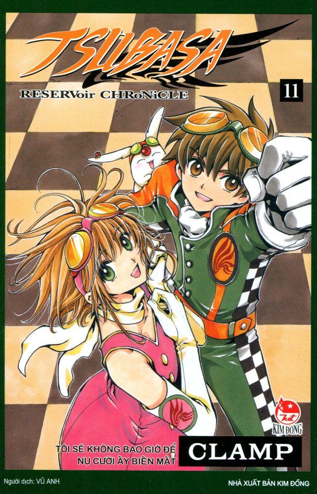 Bìa sách Tsubasa - Đôi Cánh Thiên Thần (Tập 11)