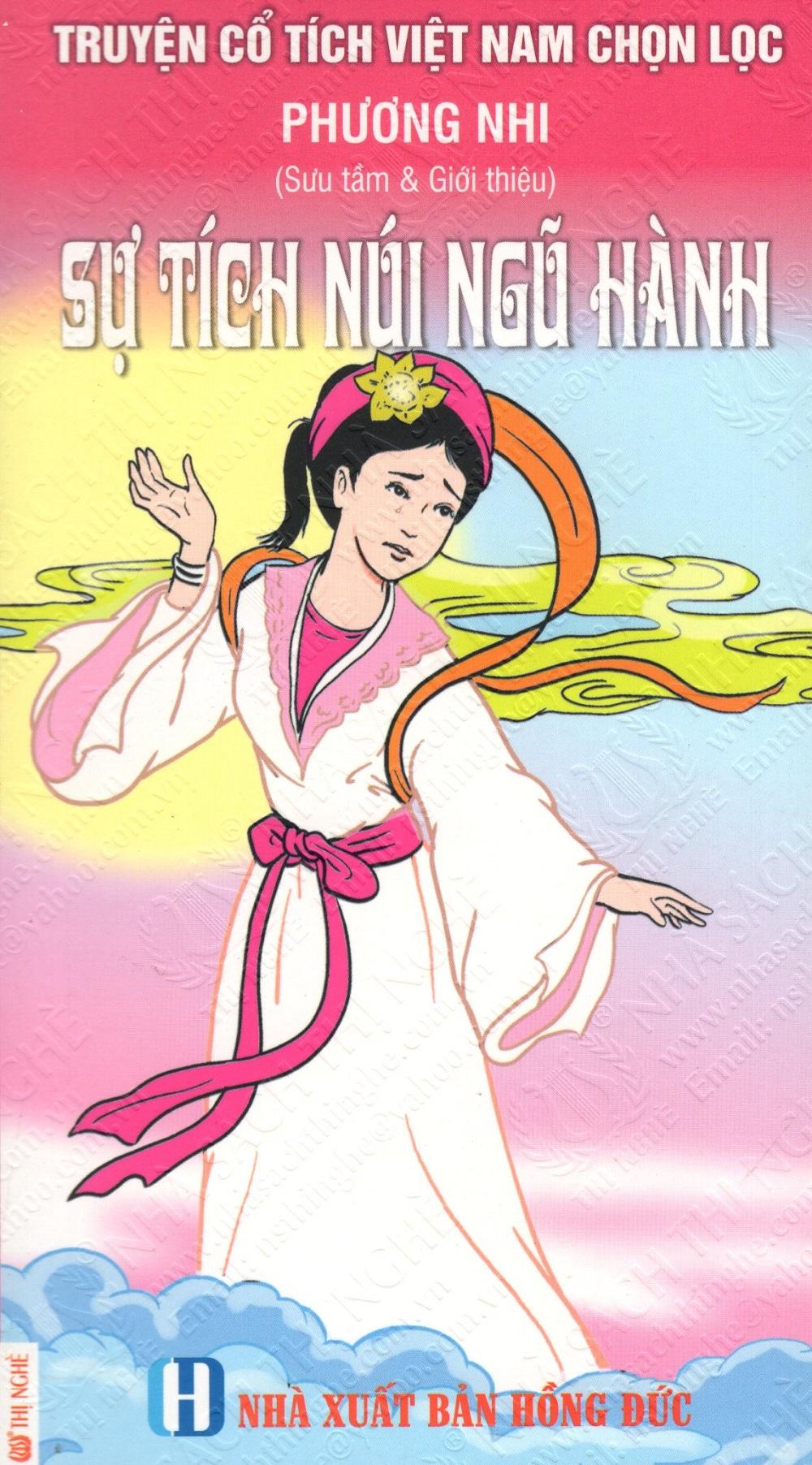 Bìa sách Truyện Cổ Tích Việt Nam Chọn Lọc: Sự Tích Núi Ngũ Hành