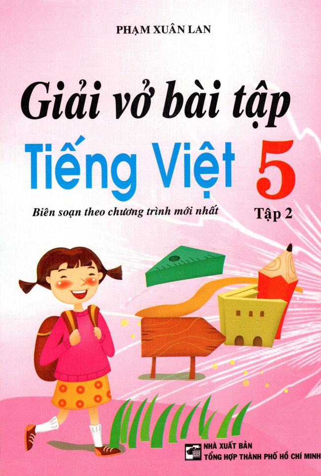 Bìa sách Giải Vở Bài Tập Tiếng Việt Lớp 5 (Tập 2) (2014)
