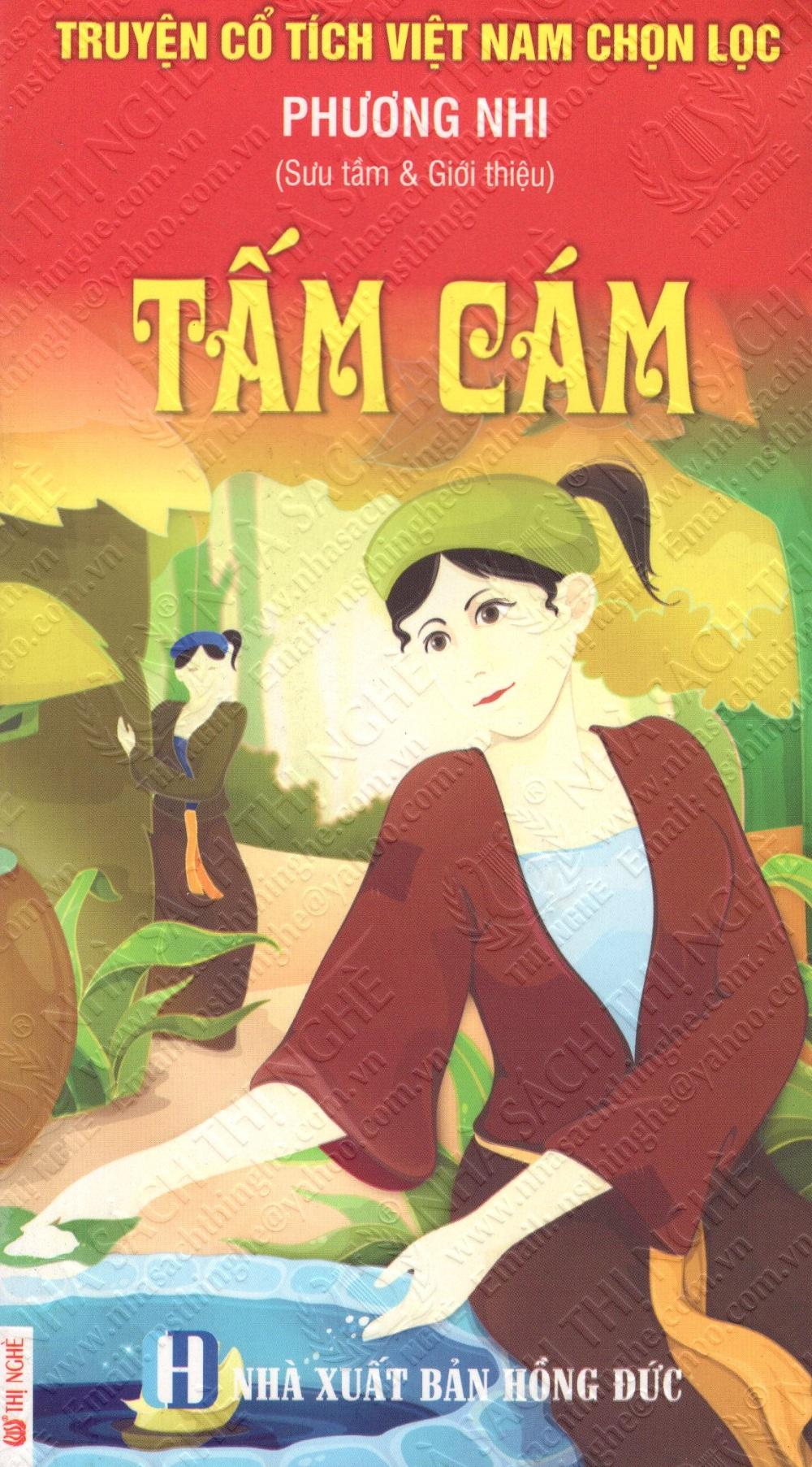 Bìa sách Truyện Cổ Tích Việt Nam Chọn Lọc: Tấm Cám